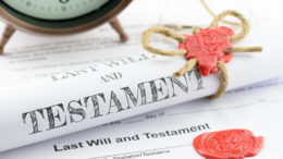 What happens when you die without a valid will?